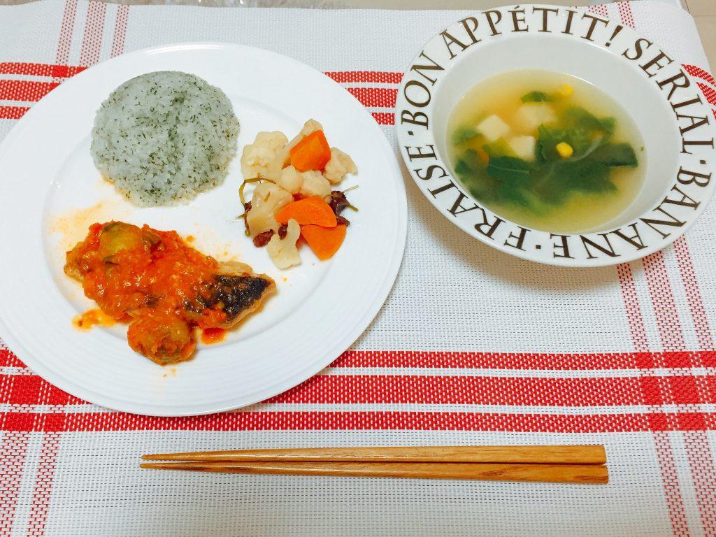 白身魚とトマトのチーズ蒸し焼きセット