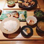 鯖の柚庵焼き定食