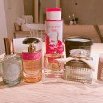 甘い香りの香水やボディクリーム
