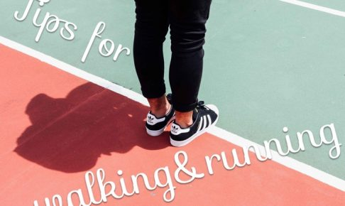 太ももの裏側やお尻を使って歩く&走るコツ