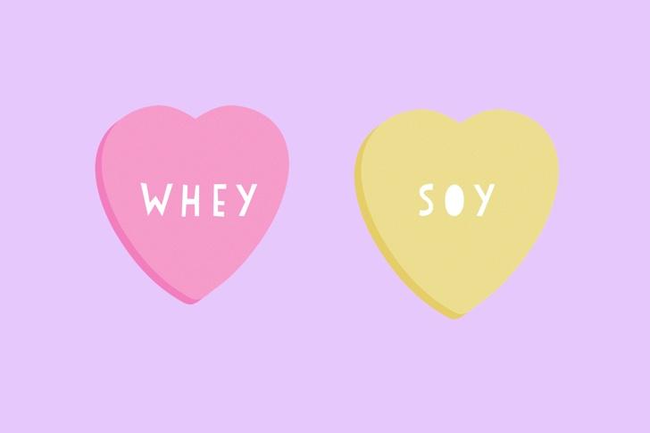 ホエイプロテインとソイプロテイン、ダイエットにはどっちがおすすめ?