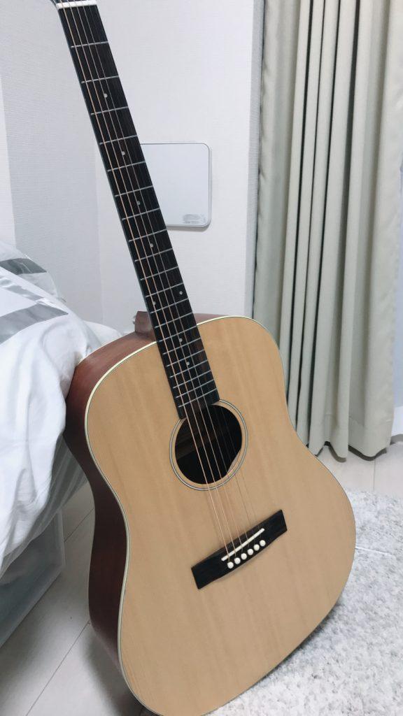 購入したアコースティックギター