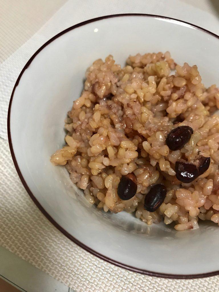 2日経った酵素玄米