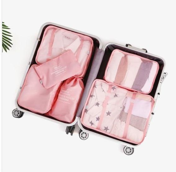 スーツケースパッキング用ポーチ