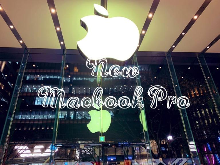 動画編集用にMacBook Pro13インチを購入!