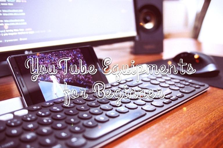 初心者YouTuberにおすすめの機材まとめ。使っているカメラ・動画編集ソフト・ライトなど