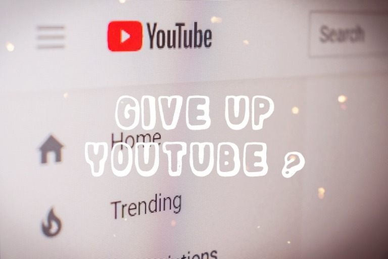YouTubeでの動画投稿なんかやめたいと思っていた話